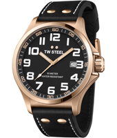 TW Steel Pilot-Rose-Gold-Black TW417 - 2013 Spring Summer Collection