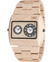 We-Wood Jupiter-Beige-Dualtimer WW9 - 2011 Spring Summer Collection