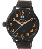 Zeno Basel Super-Oversized-Black-Left-Crown 6221Q-BK-LEFT-A15 -