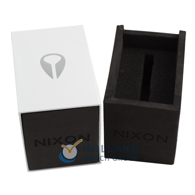 Silver & Black Quartz Watch 春夏款式 Nixon