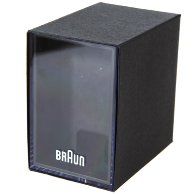 Braun watch black