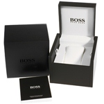 Black & Blue Chronograph Watch with Date Spring Summer Collection Hugo BOSS
