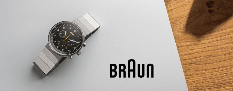 <h1>Braun horloges</h1>