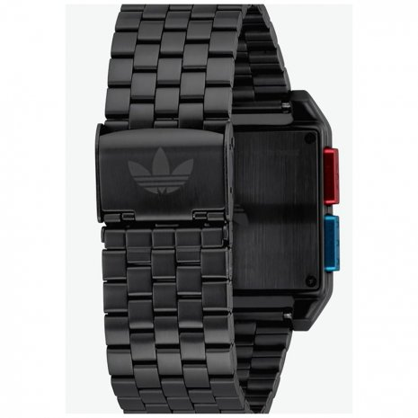 Black Square Retro Digital watch Jaro / Leto kolekce Adidas