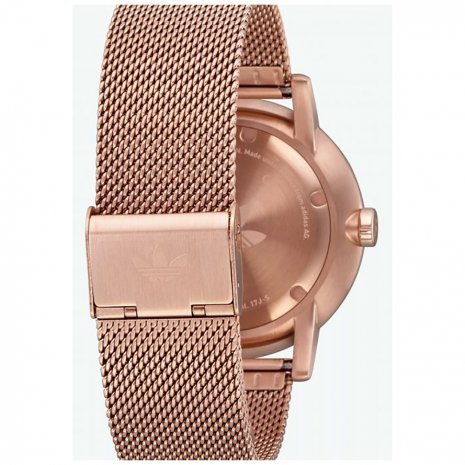 Gree & Rose Gold Quartz Watch with Mesh Bracelet podzim / zima kolekce Adidas