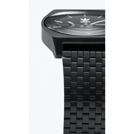 Tonneau Black Quartz Watch Spring Summer Collection Adidas