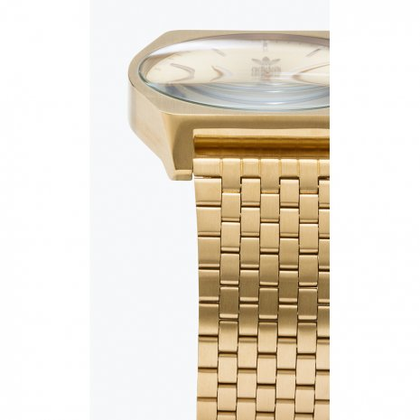Tonneau Gold Quartz Watch 春夏コレクション Adidas