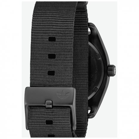 Black Watch with Textile Nylon Strap Spring Summer Collection Adidas