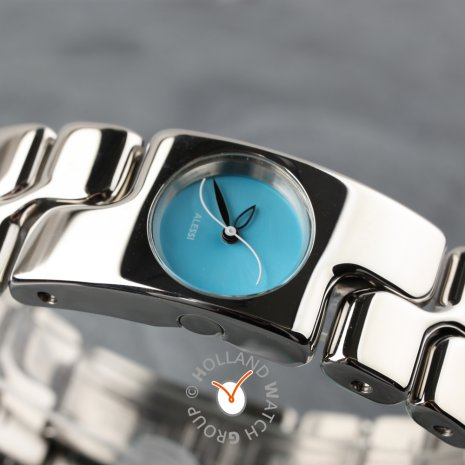 Silver & Turquoise Ladies watch Fall Winter Collection Alessi