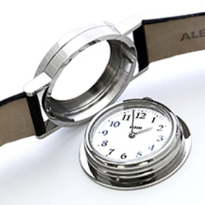 Alessi watch silver