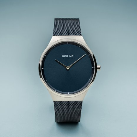 Blue gents design watch Spring Summer Collection Bering