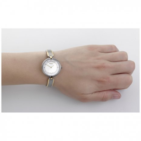Bicolor Titanium Ladies Watch Spring Summer Collection Boccia