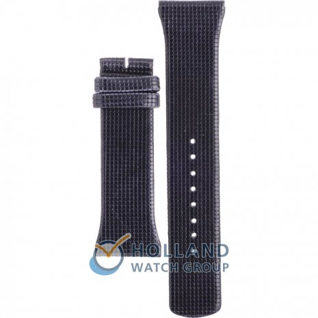 Boccia 3203-01 Blue Leather Strap Strap