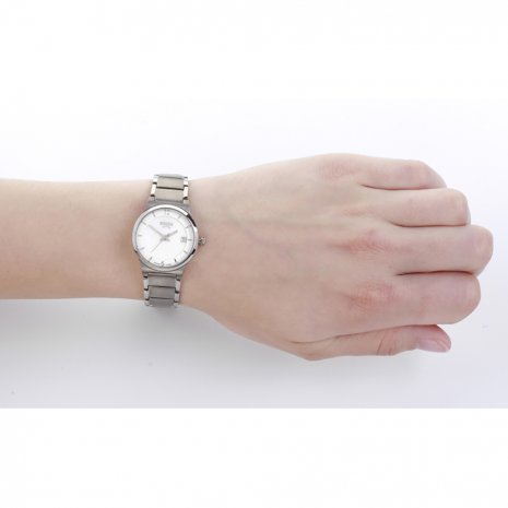 Silver Titanium Lady Watch Spring Summer Collection Boccia
