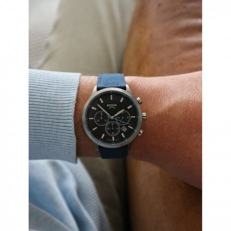watch grey Quartz Chronograph