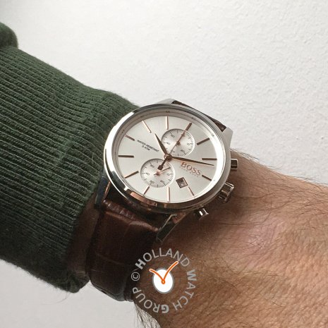 Steel Classic Chronograph with Date Fall Winter Collection BOSS