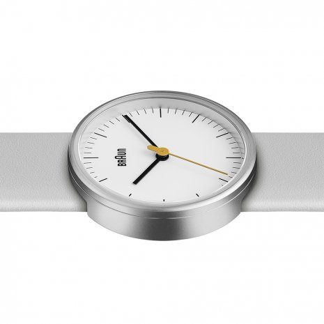 White & Silver Ladies Design Watch Fall Winter Collection Braun