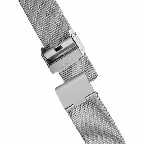 Silver & White Design Watch Fall Winter Collection Braun