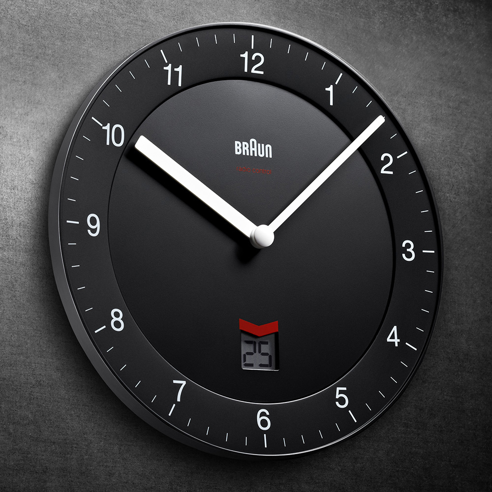 Braun Bnc006bkbk Dcf Clocks Clock Bnc006