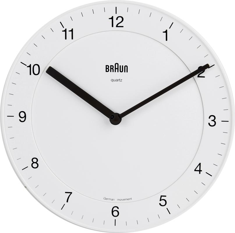 Braun Bnc006whwh Clocks Clock Bnc006