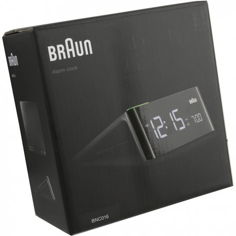 Stylish Alarm Clock With Modern Design Fall Winter Collection Braun