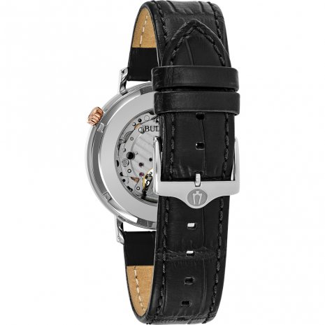 Bulova watch black