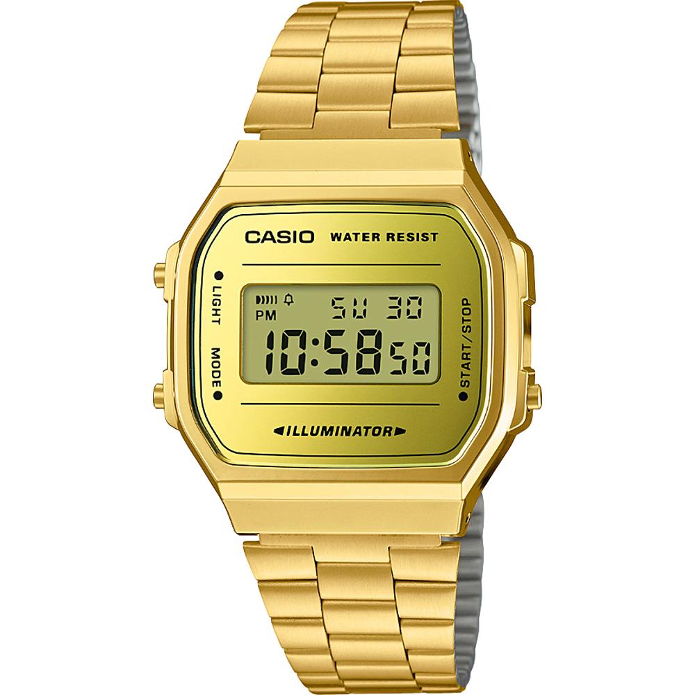 Casio Retro Digital A168WEGM-9EF Retro Mirror watch 294139d92524