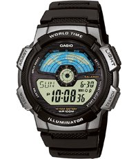 AE-1100W-1AVEF World Time 43.7mm
