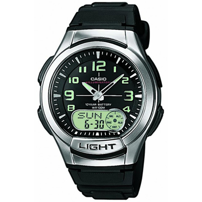 Casio AQ-180W-1BVES watch