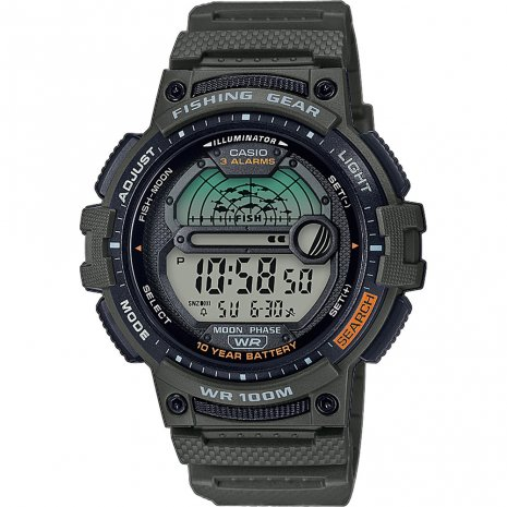 Casio Fish Finder watch