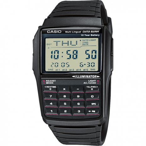 Casio Databank Calculator watch