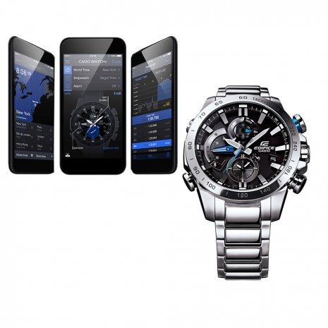 Steel Chronograph with Smart Phone Link Fall Winter Collection Casio Edifice