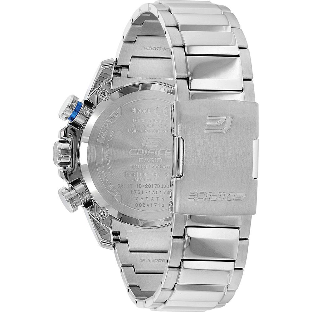 f6eb74076b5 Casio Edifice watch black · watch silver Quartz Chronograph · Steel  Ghronograph with Smart Phone Link ...