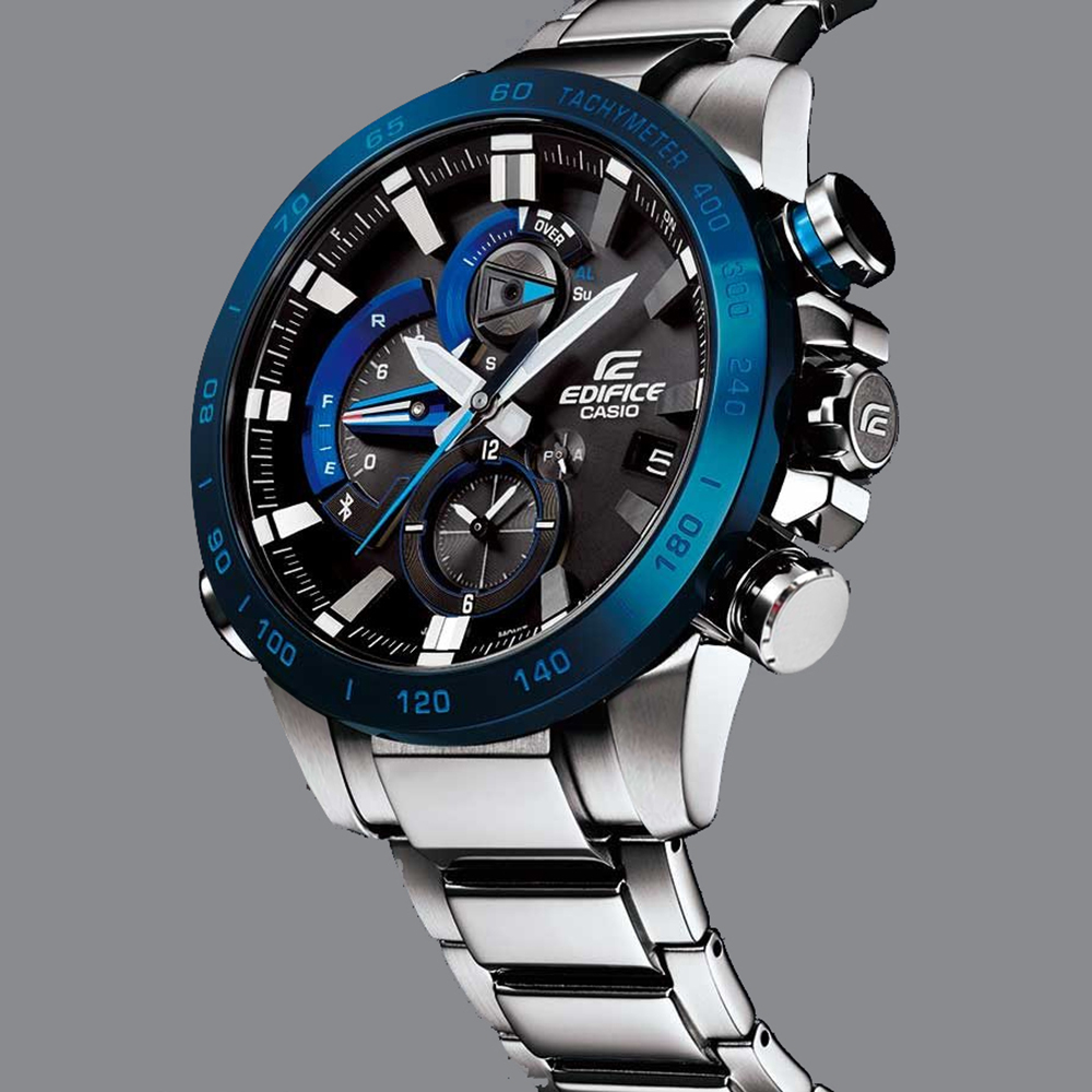 c82d59b49dd Steel Ghronograph with Smart Phone Link Fall Winter Collection Casio  Edifice. Next. Previous. Casio Edifice Bluetooth Connected watch · Casio  Edifice watch ...