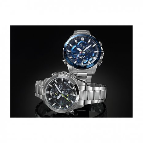 Steel Chronograph with Smart Phone Link Spring Summer Collection Casio Edifice
