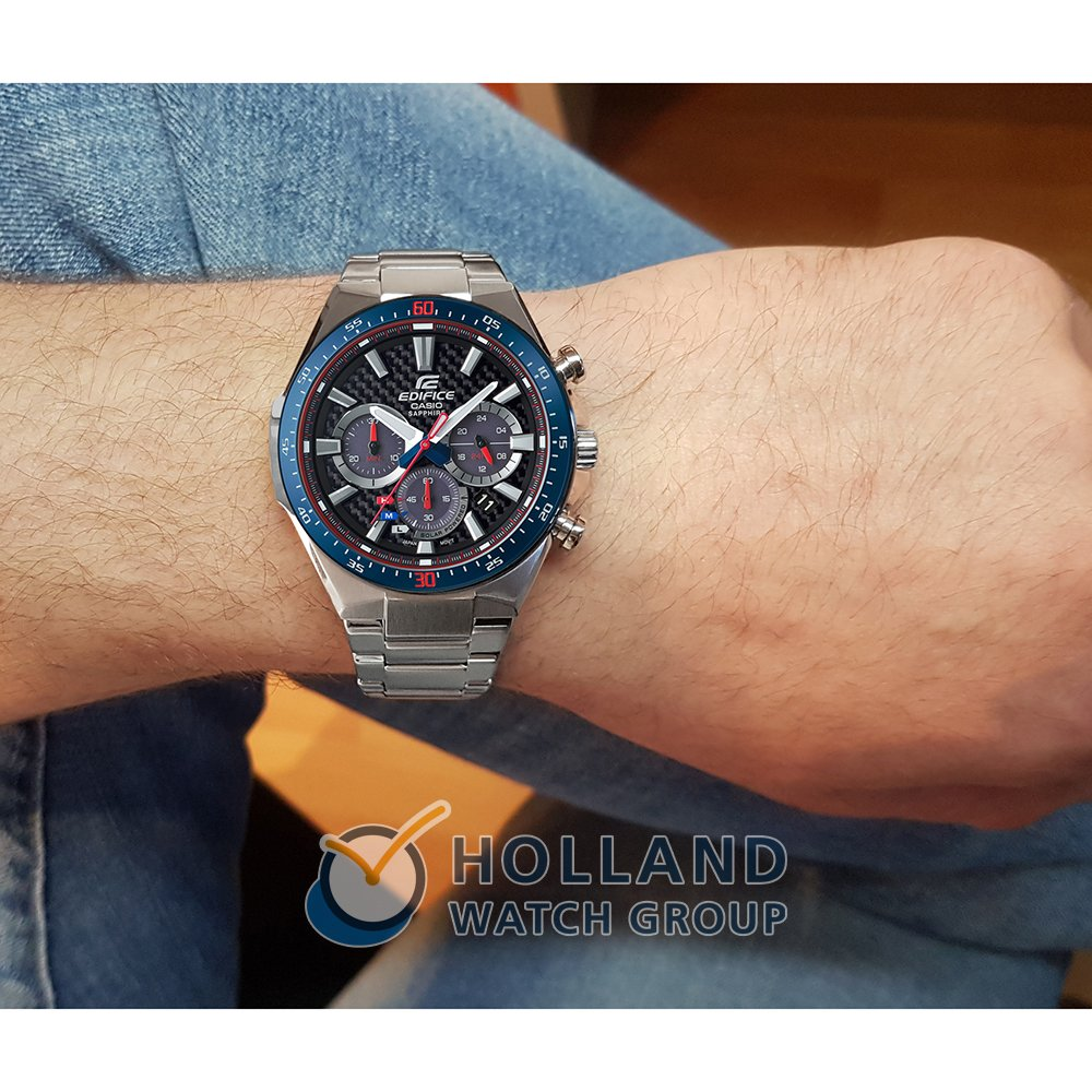 7340f284d4c Limited Edition Solar Power watch with Carbon Fiber Dial Spring Summer  Collection Casio Edifice
