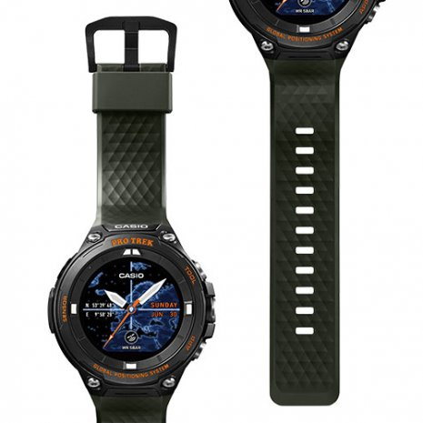 Outdoor Smartwatch with Replaceable Strap Fall Winter Collection Casio