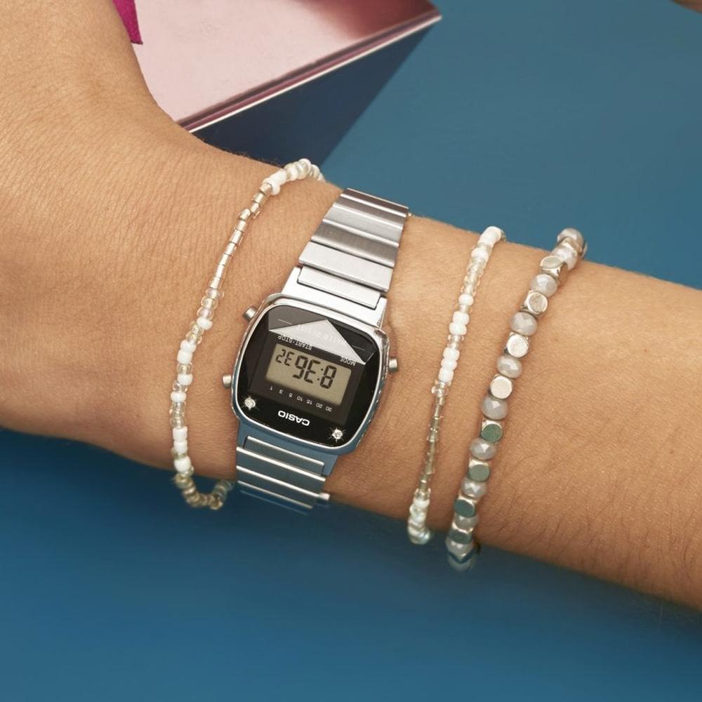 Casio LA670WEAD 1EF watch Retro Diamond  g94vD