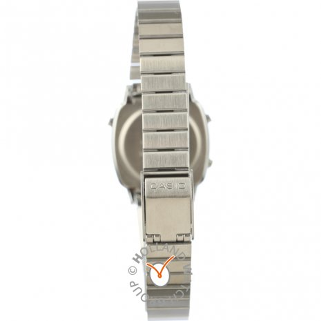 Ladies watch with diamond shape crystal and two natural diamond accents Spring Summer Collection Casio