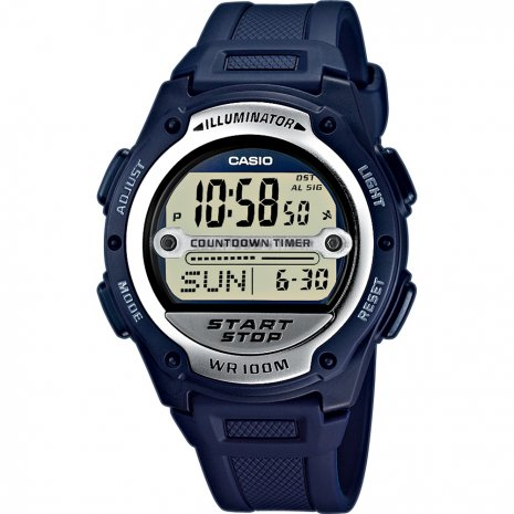 Casio W-756-2AVES watch