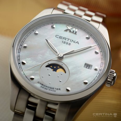 Certina watch silver