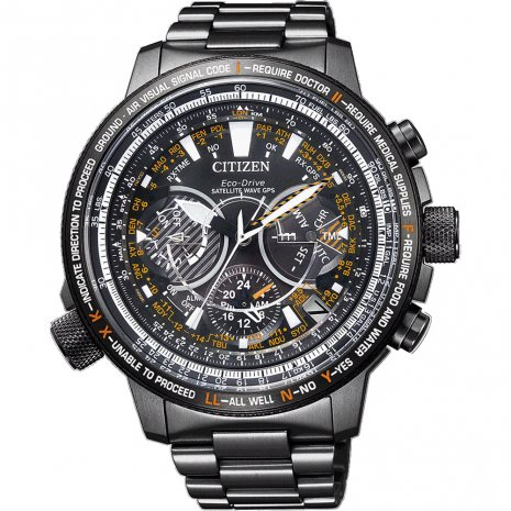 Citizen Satellite Wave GPS watch