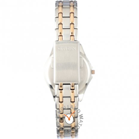 Radio Controlled TwoTone Rose Ladies Watch Spring Summer Collection Citizen