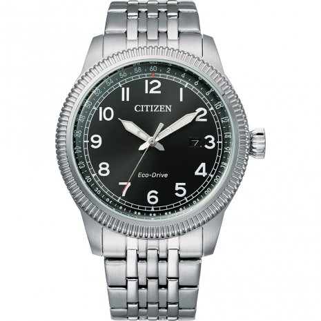 Citizen Eco-Drive retro style watch watch