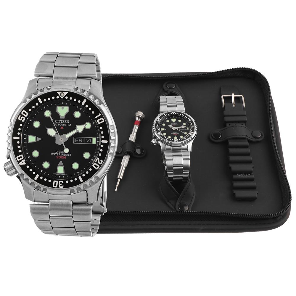 Citizen Ny0040 09eem Watch Promaster Sea Gift Set Ca4280 53e