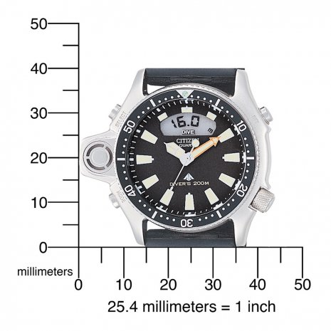 20 ATM Professional Diver with Alarm Spring Summer Collection Citizen