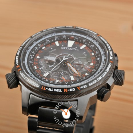 Limited Edition Gunmetal Titanium GPS Watch Fall Winter Collection Citizen