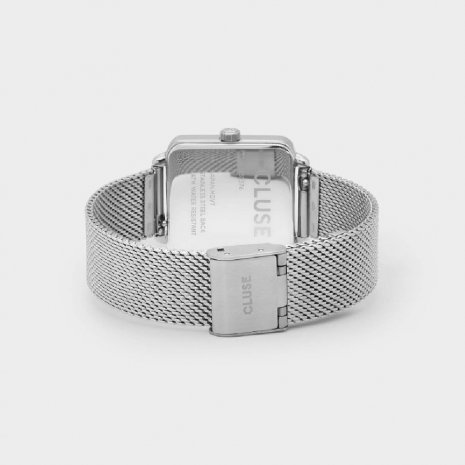 Square Ladies Quartz Watch on Mesh Bracelet Fall Winter Collection Cluse