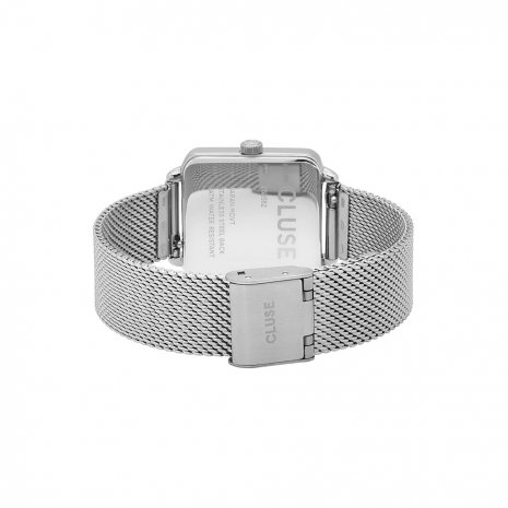 Square Ladies Quartz Watch with Mesh Bracelet Spring Summer Collection Cluse