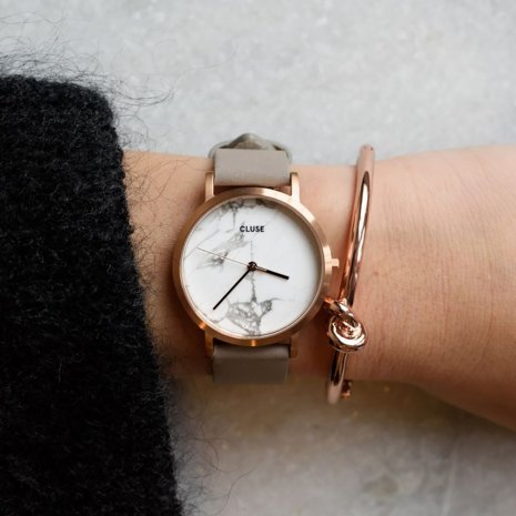 Rose gold & grey ladies watch Spring Summer Collection Cluse